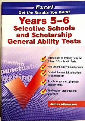 Excel Years 5-6 Selective Schools & Scholarship General Ability Tests - NEW