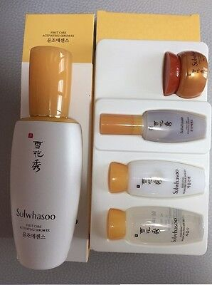 Sulwhasoo First Care Activating Serum EX 90ml+Basic Kit 4items Free Shipping