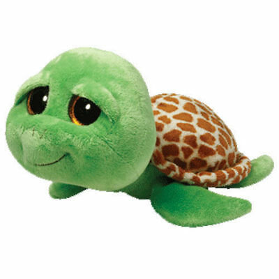 "TY Beanie Boos Regular 6"" - Zippy the Green Turtle - Brand New Soft Toy"