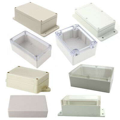 Waterproof Plastic Cover Project Electronic Case Instrument Enclosure Box Home