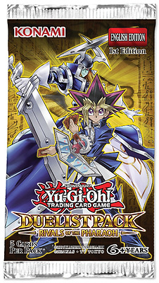 Yu-Gi-Oh! Duelist Pack Rivals of the Pharaoh 1st Edition New And Sealed Booster