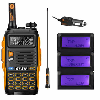 Baofeng GT-3TP Mark III 136-174/400-520MHz Tri-Power 1/4/8W Two-Way Radio