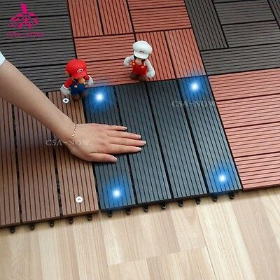 New Energy Solar Light Floor Outdoor Flooring Solar Lamps & Drainage WPS Tile CS
