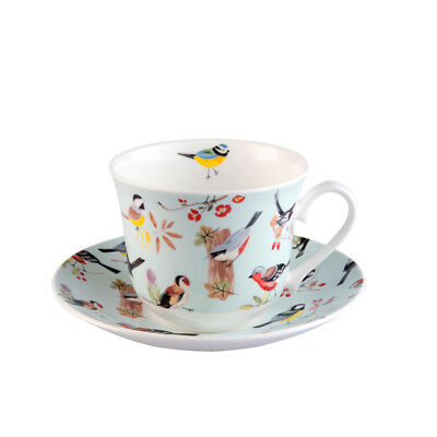Roy Kirkham Breakfast Cup and Saucer Bird Song Nature Tea Drinks Home Dining