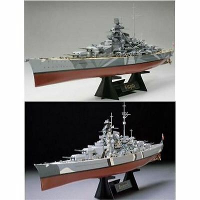 Tamiya Model Kit - German Battleship Bismark - 1:350 Scale - 78013 - New