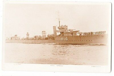 Early Postcard, Ships, H M S  Vimiera,  RP