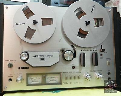 TKA Akai Tape Recorder GX-4000D Real To Real.