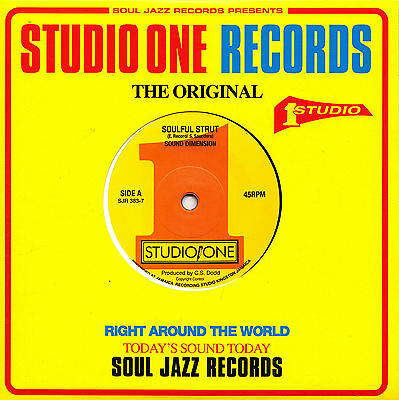 **  Sound Dimension  Soulful Strut  Time Is Tight  Studio One Back2Back Classics
