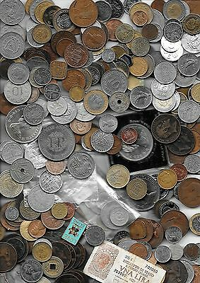 Bulk well Mixed coins, tokens medallions. Great Quality