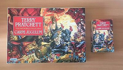 Terry Pratchett Discworld Carpe Jugulum Collector's Puzzle Complete - Fast Post