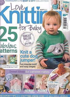 Love Knitting For Baby Magazine - Issue 49 - July 2017