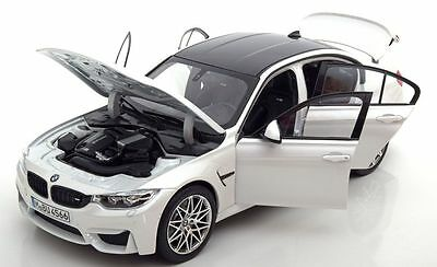 Norev BMW M3 F80 Competition 2016 White Special Ed. Model Car 1:18 Genuine New