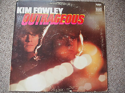 Kim Fowley Outrageous LP Original & Rare 1968 US Pressing