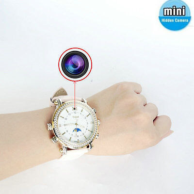 New Ladies Watch hidden mini camera detection DV recorder take Pictures DVR mp3