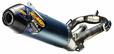 FMF Factory 4.1 RCT Full Exhaust System For Yamaha Titanium Anodized Blue 044412