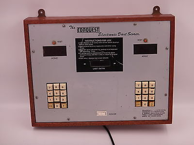 Vintage Original Conquest Darts Scorer
