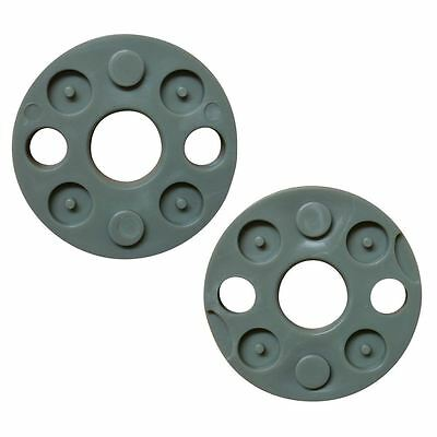 2 x Blade Spacers Fits Flymo Turbo Compact Vision FLY017