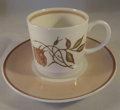 Susie Cooper 1960's Retro Talisman Coffee Cup Can & Saucer VGC