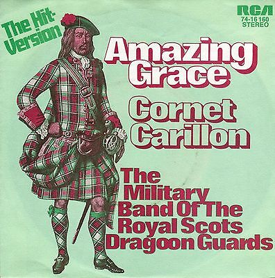 """Single, THE MILITARY BAND OF THE ROYAL SCOTS DRAGOON GUARDS, """"AMAZING GRACE"""""""