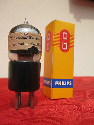 1 Röhre 3 ALPHA SMALL TRIODE BATTERY 1920's PIP TOP LAMPE VALVE TUBE DHT SET