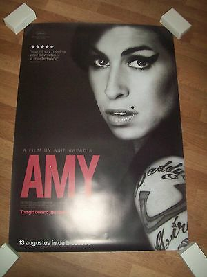 Amy Winehouse one 1 sheet original movie poster DS