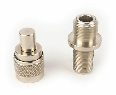Coaxial Type N Male Termination Cap and Adapter N Female to N Female (Set)