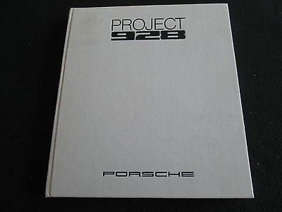 1978 1977 Porsche PROJECT 928 Development Big Official Book Weitmann Steinemann