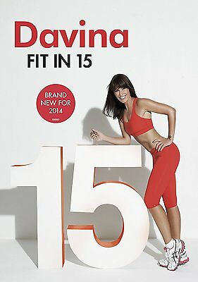 Davina 15 min Fitness Workout DVD Weight Loss Exercise Video Quick Fit Cardio