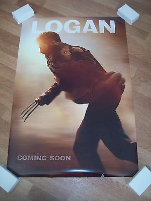 Logan original movie one 1 sheet poster Hugh Jackman DS