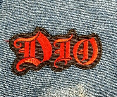 DIO Embroidered Patch Black Sabbath Metal USA Seller Fast Delivery