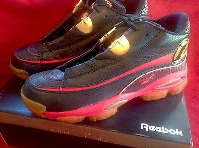 51d4cf54680d29 Reebok Answer I3 DMX 10 Allen Iverson 76ers Men s Basketball Shoes Size 11  NIB!