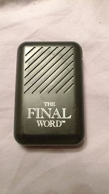 VINTAGE~The Final Word 1990 Banning Electronic Cursing Machine Adult Version