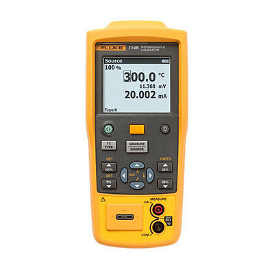 Fluke 714B Thermocouple Temperature Calibrator, 4-20 mA
