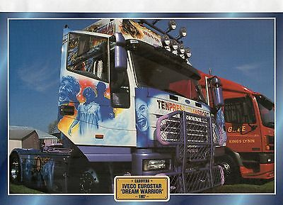 IVECO  EUROSTAR  'DREAM WARRIOR '             Glossy   Picture (T728)
