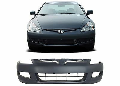 Replacement Front Bumper Cover For 2003-2005 Honda Accord Coupe New Free Ship