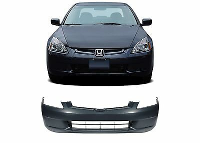 Replacement Front Bumper Cover For 2003-2005 Honda Accord Sedan New Free Ship