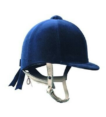 Gatehouse Hickstead Velvet Riding Hat in Black or Navy