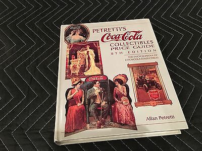 Petretti's Coca Cola Collectible Price Guide 8th Edition 404 pages year 1992