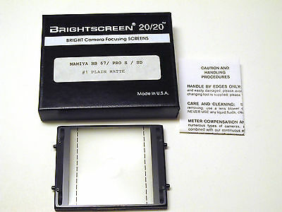 Mamiya RB67 Brightscreen Focusing Screen for all Mamiya RB67 Cameras
