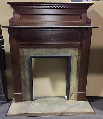 "Vintage Fireplace Mantel  ""m522"""