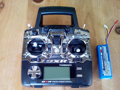 Turnigy 9XR Transmitter. Mode 1