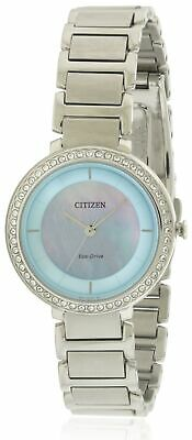 Citizen Eco-Drive Silhouette Stainless Steel Ladies Watch EM0480-52N