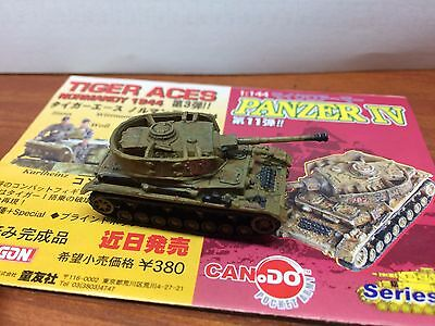 1/144 WWII Can.do German Panzer IV Ausf, H Italy 1944 Cando Tank loose WTM