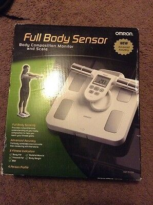 OMRON - Full-body Sensor Body Composition Monitor & Scale - HBF-510W - RC 539NEW
