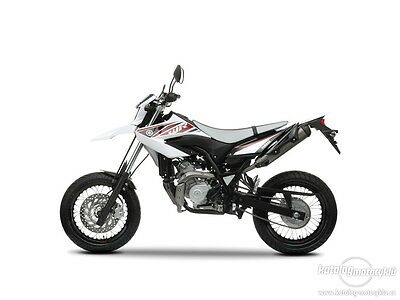 Yamaha WR125R WR125X 09-on Service Manual CD