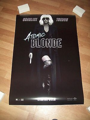 Atomic Blonde movie poster original d/s one sheet Charlize Theron