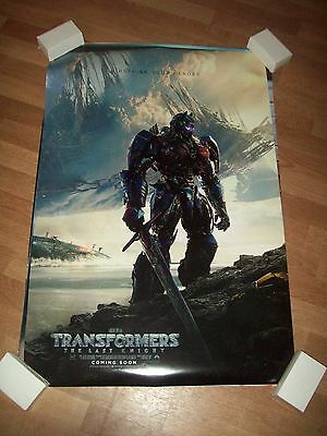 Transformers the last knight movie poster original d/s one sheet