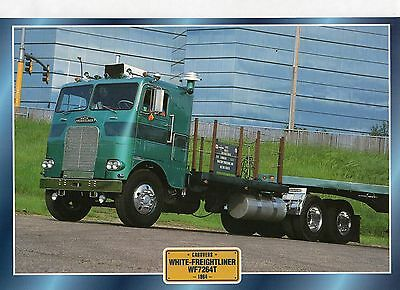 WHITE-FREIGHTLINER WF7264T                             Glossy   Picture (T867)