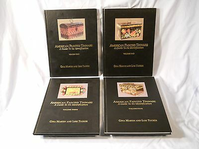 American Painted Tinware A Guide To Its Identification Martin Tucker 4 Volumes