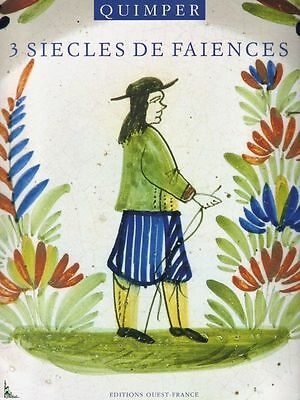 Quimper, three hundred years of faience, French book